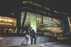 Night photos of bride and groom JG Domestics getting married in Philadelphia || JG Domestic Wedding || Laura and Nate Get Married in Philadelphia || BG Productions || www.bgproonline.com