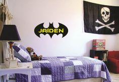 Personalized Child's Name Batman Emblem Vinyl Wall Decal Sticker Stencil Silhouette Nursery Vinylexpressions,http://www.amazon.com/dp/B00H6TY48C/ref=cm_sw_r_pi_dp_zRy8sb1JR6BTS3P2