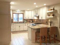 A Prophetstown, IL kitchen with materials, install and full remodel by Village Home Stores. | VillageHomeStores.com
