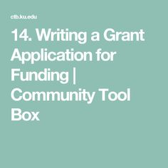 grant application writing How to write a grant proposal true grants can be very difficult to find and harder still to get it may not be easy to find the right grant, but when you do, properly completing the grant application will be your biggest challenge.