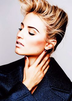 Diana agron...ok I know this is weird but I love her eyebrows