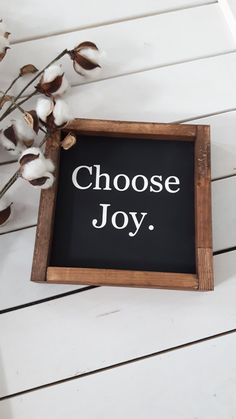 Sq Quote Beauteous Wood Framed Signboard  Choose Joy  Sq  Choose Joy Breeze And Texts Decorating Inspiration