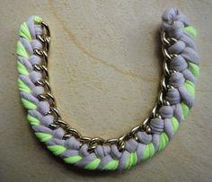 DIY accessories: Neon Love =)