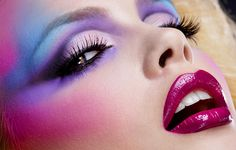 Color done right | Reference/Inspiration #Makeup #Pinterest