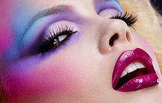80er-Jahre-Makeup.