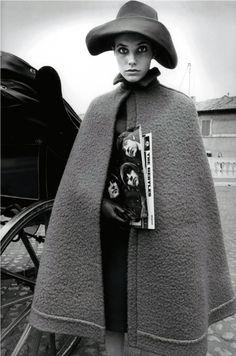 Jeanloup Sieff -Jane Birkin, Rome for Harper's Bazaa 1966