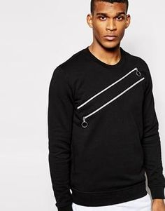 Image 1 ofLove Moschino Zip Sweater