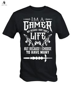 I Am a Gamer Men Shirt