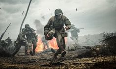 """This image released by Summit shows Andrew Garfield in a scene from """"Hacksaw Ridge."""" The film was nominated for an Oscar for best picture on Tuesday, Jan. 24, 2017. The 89th Academy Awards will take place on Feb. 26. (Mark Rogers/Summit via AP)"""