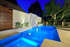 Swimming Pool Designs by MDB Constructions Luxury Swimming Pools, Natural Swimming Pools, Luxury Pools, Swimming Pools Backyard, Swimming Pool Designs, Pool Landscaping, Lap Pools, Natural Pools, Indoor Pools