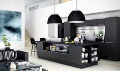 Moderne kjøkken i stilrent og funksjonelt design