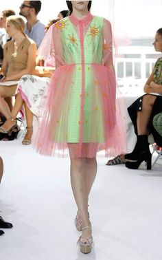 Happy colors - the same I chose for my girls T project - see on Instagram. Delpozo Look 31 on Moda Operandi
