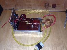 How to make a simple induction heater. This project is really simple, and surprisingly effective at heating metals using high frequency magnetic fields. Induction Forge, Induction Heating, Simple Diy, Easy Diy, Nimh Battery Charger, Circuit, Chopper, Welding, Garage