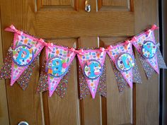 Doodlebug Party Banner Scrapbook.com