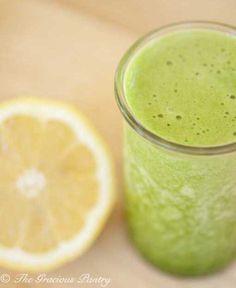 Clean Eating Green Lemon Pineapple Smoothie www. Pineapple Smoothie Recipes, Coconut Smoothie, Apple Smoothies, Juice Smoothie, Healthy Smoothies, Healthy Drinks, Healthy Eats, Lemon Smoothie, Green Smoothies