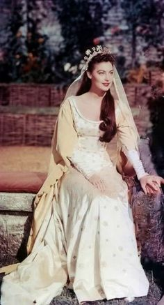 Guinevere (Ava Gardner) - Los caballeros del rey Arturo (1953)