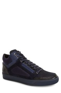 Lanvin Mid Top Sneaker (Men) available at #Nordstrom