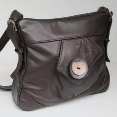 LEATHER Shoulder Bag RESERVED FOR dreoran #leather #tapestry #bags #handbags