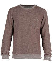 Sweatshirts for Men at Zando with the BEST prices. Shop now and get SAFE and SECURE payment options with FAST and FREE delivery anywhere in South Africa. Sweatshirts Online, Mens Sweatshirts, Hoodies, Men Online, Crew Neck, Pullover, Pocket, Brown, Long Sleeve