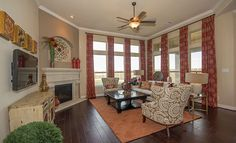 Grand Mission Estates: Stonewall Collection - Living Room