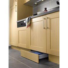 Tiroir sous-plinthe pour meuble l.60 cm, DELINIA