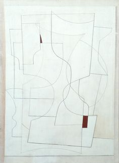 Ben Nicholson OM 'July 27-53 (ivory)', 1953 © Angela Verren Taunt 2015. All rights reserved, DACS