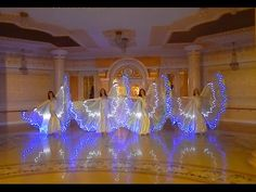 Joumana Dance Show rehearsing with LED wings Christmas Program, Talent Show, Led, Kids Shows, Dance Videos, Neon Lighting, Belly Dance, Light Up, Worship