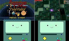 A First Look at Adventure Time's New Nintendo 3DS Game- Explore the Dungeon Because I DON'T KNOW! Screenshot from website