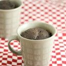 Chocolate Mug microwave cake, cooks in under 3 minutes