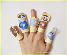 marionette da dita - presepe2