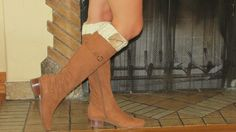 Knitted Boot Cuffs Leg Warmer Boot Toppers For by ARMANDESIGN, $18.00