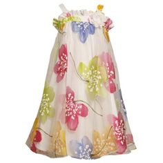 Bonnie Jean TWEEN GIRLS 7-16 MULTI BIG FLORAL BURNOUT OVERLAY BABYDOLL Special Occasion Wedding Flower Girl Easter Party Dress. Bonnie Jean, http://www.amazon.com/dp/B0074Y85KW/ref=cm_sw_r_pi_dp_szYRpb0KJJC3F