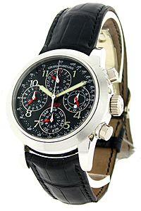 GIRARD-PERREGAUX Men's Ferrari F50 Platinum Perpetual Watch Ltd. Edition.