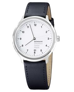 The new Helvetica No1 Regular Watch White/Silver by Mondaine is unshowy, neutral and incredibly simple at first glance and explores another classic Swiss design element.