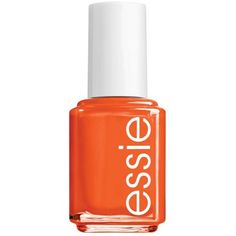 Essie Meet Me At Sunset Essie Nail Color ($4.50) ❤ liked on Polyvore featuring beauty products, nail care, nail polish, nails, makeup, beauty, cosmetics, filler, meet me at sunset and essie nail varnish