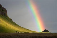 Rainbow mood, Iceland • AirPano.com • Photo
