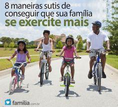 Familia.com.br | #Cuidados com a #saude: 8 #maneiras fáceis de #fazer mais #exercícios. #bemestar