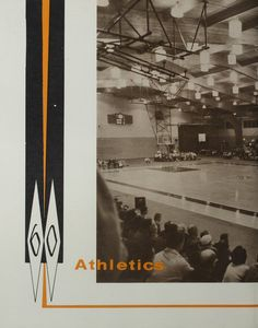Northeast Missouri State Teachers College | The 1960 Echo | Athletics Cover Page
