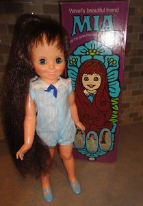 Mia Doll (1970) One of my favorite Chrissy doll family