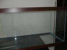 The finished product - a newly resealed aquarium