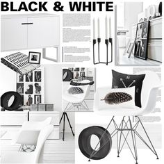 """""""Black and White"""" by bellamarie on Polyvore #blackandwhite"""