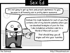 Sex Ed - The Oatmeal