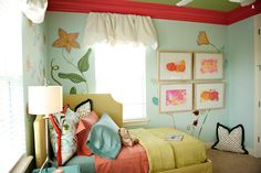 Adorable girl's bedroom design, discovered on search.porch.com