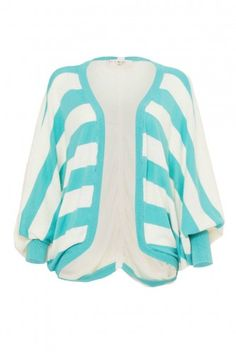 STRIPES LOOSE CARDIGAN - (X) S.M.L