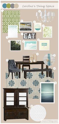 Mood Board: Caroline's Dining Space