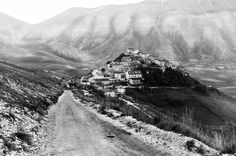Photograph Castelluccio in Black and Withe by Marco Boz on 500px