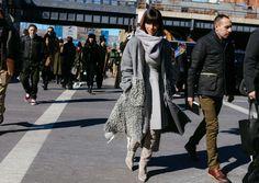 //// Phil Oh's Best Street Style Pics From New York Fashion Week Fall 2016 //// Princess Deena Aljuhani Abdulaziz