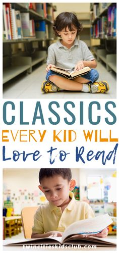 Twin Cities Kids Club Blogs: Classics Every Kid Will Love to Read - Reading with your children classic stories that you loved as a child is a precious opportunity for you and your child to make memories that will last a lifetime. We have put a list together of our ten favorite classic children's books that every kid will love to read. | Kids | Classics | Kids Book | Story Books | Parents | Parents Ideas Kids Study, Story Books, Children Toys, Learning Through Play, Twin Cities, Educational Activities, Love Reading, Kids And Parenting, Opportunity