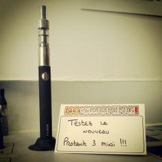 Mini Protank 3 en test chez #nosmokingclub #vape #vapor #ecig #kangertech #vapote