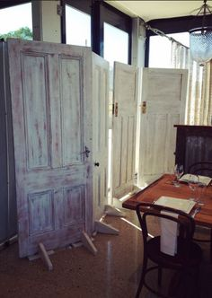 Loving our new rustic vintage timber doors! Perfect for a ceremony backdrop don't you think? For hire details contact: www.youreventsolution.com.au #YourEventSolution #weddings
